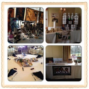 banquet collage