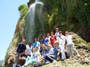 Morocco Team 07 at falls
